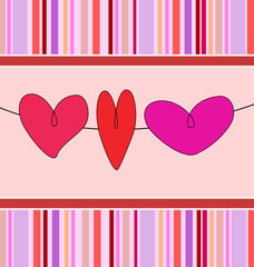 background heart