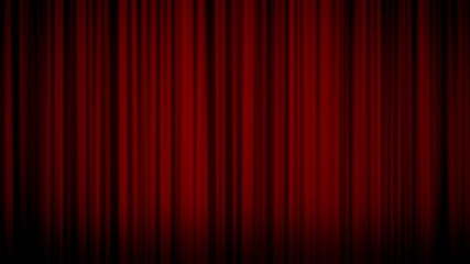 Curtain RED LOOP HD