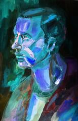 Man's portrait..