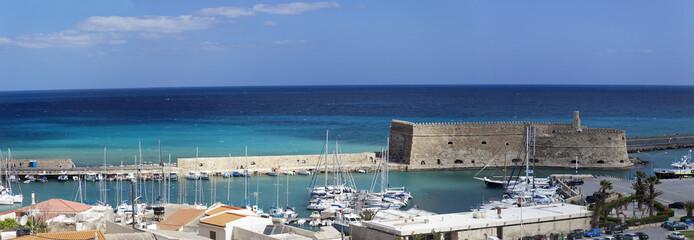 Iraklio ,Crete (panoramic composition)