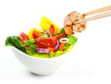 Fresh Seafood with Salad