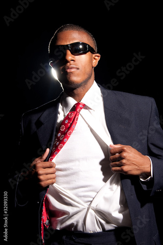 Super Hero Business Man