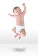 Happy Baby Jumpign for Joy