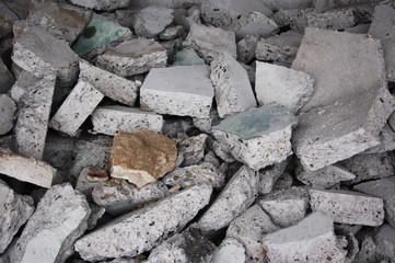 コンクリートの瓦礫