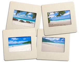 diapositives plages des Seychelles