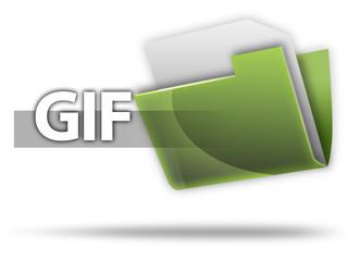 """3D Style Folder Icon """"GIF"""""""