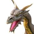dragon attack close up