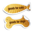 Goods for dogs and cats stickers