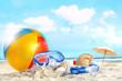 Fun day at the beach - 32105513