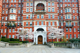 Typical palace near kensington garden, London, UK. poster