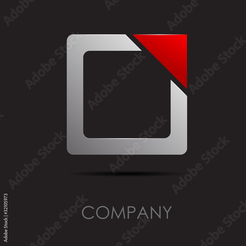 Logo abstract geometric form 1 # Vector