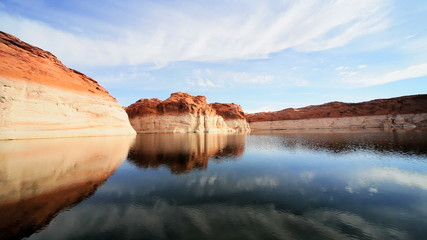 Reduction of Water Levels, Lake Powell