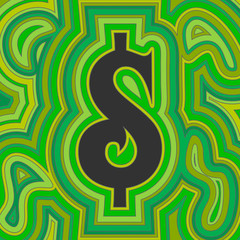 Groovy Money - Green Dollar
