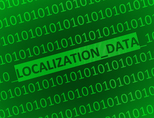 localization data...