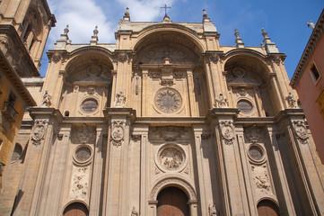 Metropolitana de la Encarnacion Cathedral in Granada. Spain