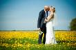 Hochzeit im Blumenmeer