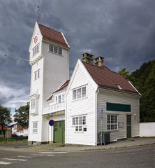 The old Skansen Fire Station in Bergen, Norway