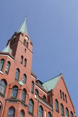 Schwedische Gustaf-Adolf-Kirche in Hamburg