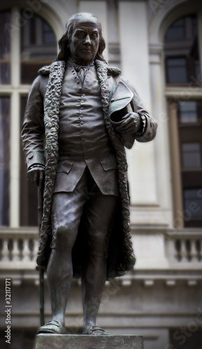 Benjamin Franklin Monument