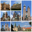 Krakow Poland collage