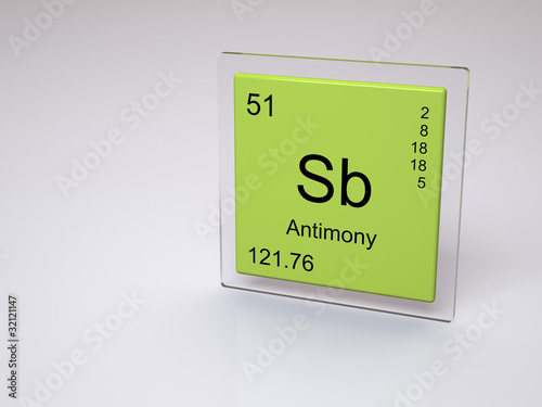 My periodic table thinglink divantimony is a chemical element with symbol sb from latin stibium and atomic number 51 a lustrous gray metalloid it is found in nature mainly as urtaz Gallery