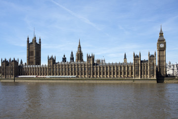 Big Ben und Palace of Westminster