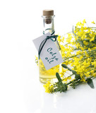 Bottle of colza oil