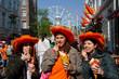 tusiste ad Amsterdam, festa della regina