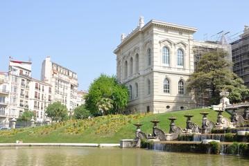 jardin du palais longchamp, Marseille 9