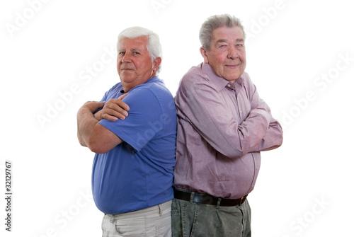 Schmollende Senioren