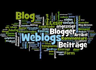 Weblogs (horizontal)
