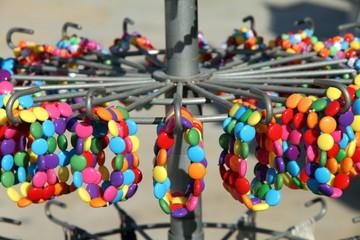 Plastic beads jewelry on sale Javea Costa Blanca Alicante provin