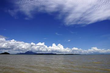 South China sea to Borneo.