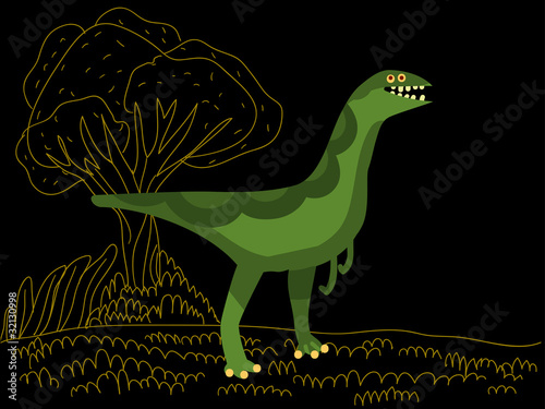 Gallimimus dinosaur © Complot