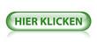 """""""HIER KLICKEN"""" Knopf (web internet button clicken sie grün)"""