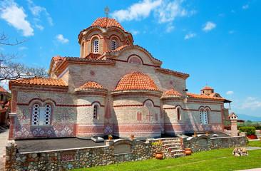 Monastery of 'Osios Efraim' at mountain Olympus in Greece