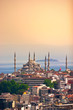 Istanbul, Türkei, Blaue Moschee