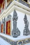 Art of Thai Buddhism church poster