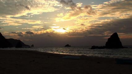 海上の雲in沖縄