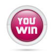 bottone 3D_You Win Viola