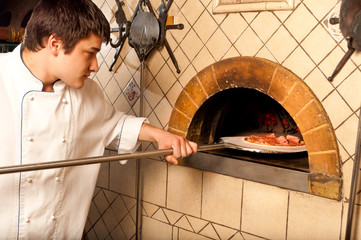 A process of preparing pizza