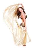 orientalische Tänzerin mit Schleier