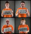 Постер, плакат: criminal gang