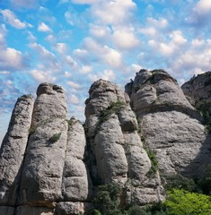Mountains of Montserrat, Spain