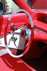 custom classic car interior