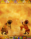 Fototapety African traditional patterns