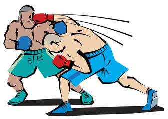 ボクシング カウンターパンチ