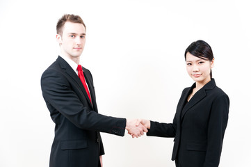businessperson shaking hands