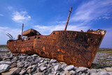 freight vessel  was shipwrecked during a storm off the coast of