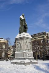 Statue of William of Orange in The Hague, Holland